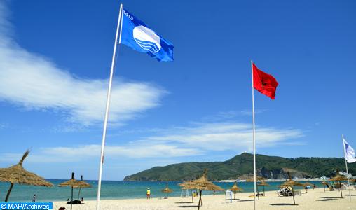 """Fahs-Anjra: Le """"Pavillon Bleu"""" hissé sur la plage Dalia pour la 3ème année consécutive"""
