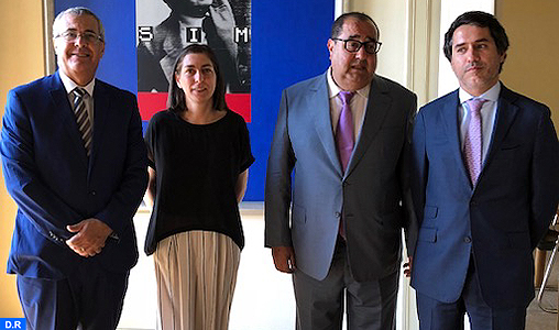 Une délégation de l'USFP s'entretient à Lisbonne avec des responsables du Parti socialiste portugais