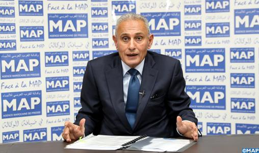 """Nasser Kamel SG de l'UpM """"Face à la MAP"""" : Le Maroc joue un rôle important en faveur de l'intégration de la région euro-méditerranéenne"""