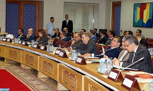 Développement des provinces du Sud: l'état d'avancement des projets au centre d'une réunion au ministère de l'Intérieur