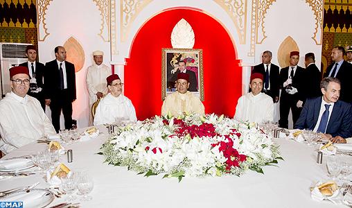 SAR le Prince Moulay Rachid préside à Tanger un déjeuner offert par le Chef du gouvernement à l'occasion de la fête du Trône