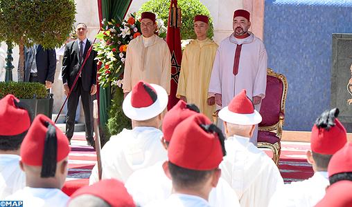 SM le Roi préside à Tanger une réception à l'occasion de la Fête du Trône