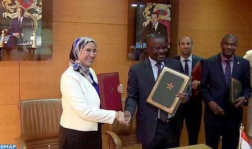Mémorandum d'entente portant sur le renforcement de la coopération bilatérale dans le domaine de l'environnement et du développement durable