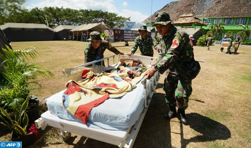 Indonésie: Le bilan du séisme de Lombok pourrait grimper à 381 morts (Armée indonésienne)