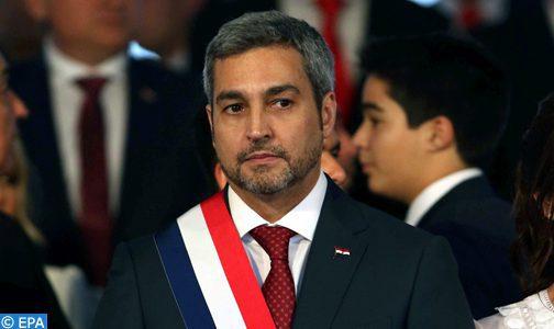 Le président paraguayen affirme que la présence du Maroc à la cérémonie de son investiture est une marque de haute estime pour son pays