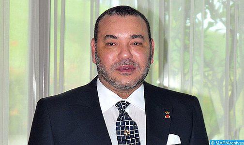 Message de félicitations à SM le Roi du SG de l'UMA à l'occasion du 55ème anniversaire du Souverain