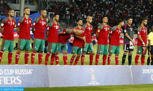 Classement mensuel de la FIFA: Le Maroc au 46ème rang