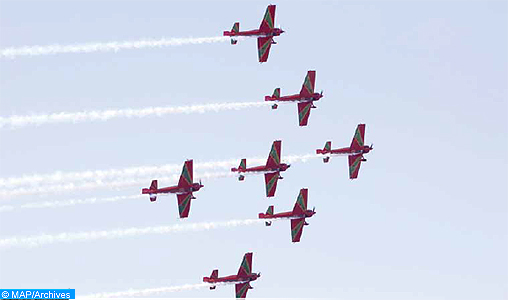 Youth Festival: the Air Royal Forces organize aerial shows at the Bay of Bouregreg