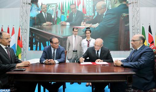 10è Congrès de la Route: signature du 2è contrat-programme pour le développement de l'ingénierie et de l'entreprise BTP