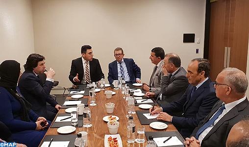 M. El Malki souligne à Sydney l'importance de la régionalisation dans la consolidation de la démocratie