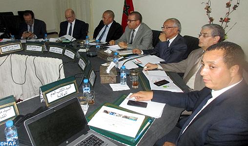 Réunion à Errachidia du comité régional du programme de réduction des disparités sociales et territoriales en milieu rural