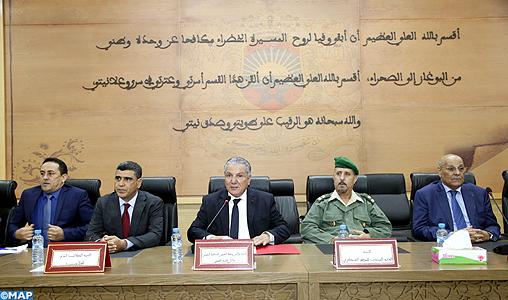 Installation du nouveau secrétaire général de la wilaya de la région de Laâyoune-Sakia El Hamra