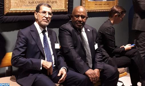 Le Chef du Gouvernement s'entretient à New York avec le Président des Comores