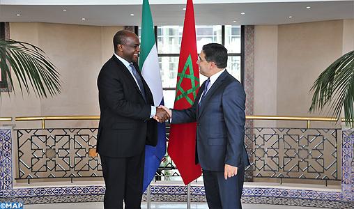 Le ministre Sierra-Léonais des AE loue le rôle du Maroc pour l'émergence d'une Afrique intégrée, développée, stable et prospère