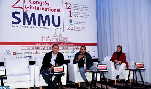 Tenue à Rabat des travaux du 2è Congrès international sur la médecine d'urgence