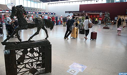L'aéroport de Casablanca aux couleurs du Salon du Cheval d'El Jadida