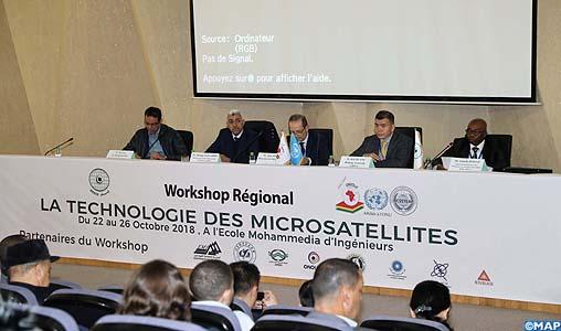 Conférence régionale à Rabat pour le renforcement des capacités d'ingénierie dans la conception des microsatellites