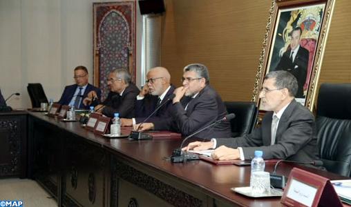 M. El Othmani réitère la détermination du gouvernement à communiquer de manière continue et régulière avec les différentes parties pour réussir le dialogue social