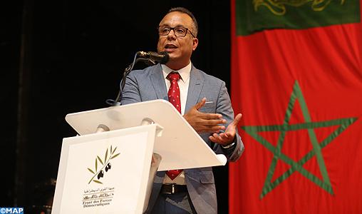 Le renforcement de la confiance politique, un capital symbolique pour la réalisation du développement global (SG du FFD)