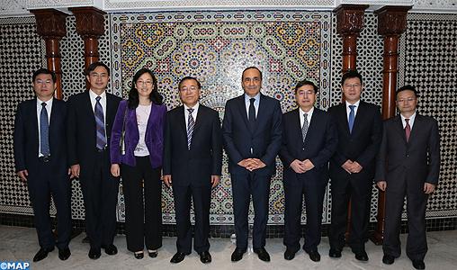 Investissement: le vice-ministre chinois qualifie d'appropriées les garanties légales offertes par le Maroc