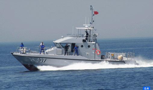 La Marine royale porte assistance à 185 Subsahariens candidats à l'émigration clandestine