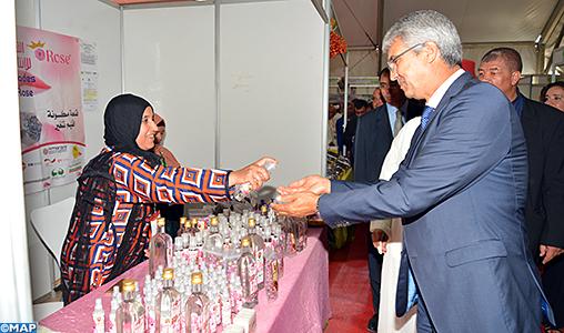 Le 2ème Salon régional des produits du terroir ouvre ses portes à Ouarzazate