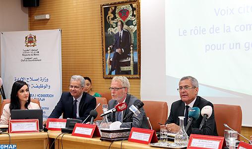 Maroc- OCDE: un rapport recommande la valorisation de la fonction de communication publique au sein des départements ministériels