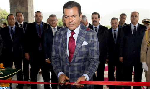SAR le Prince Moulay Rachid inaugure le ''Michlifen Golf and Country Club''