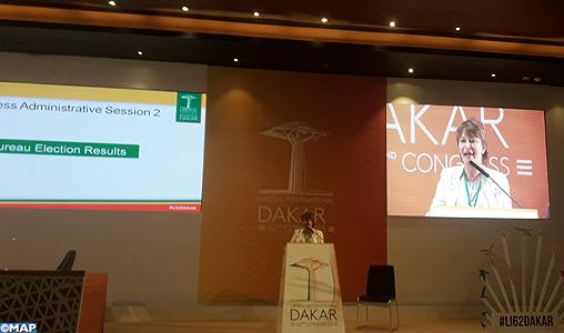 Mme Hakima El Haite élue à Dakar présidente de l'Internationale libérale