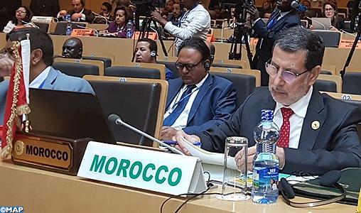 Le Maroc adhère à la réforme institutionnelle de l'Union Africaine (M. El Otmani)