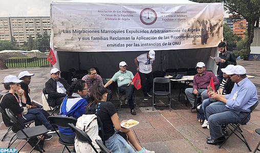 Mexique: le calvaire des Marocains victimes d'expulsion arbitraire d'Algérie exposée au FSMM