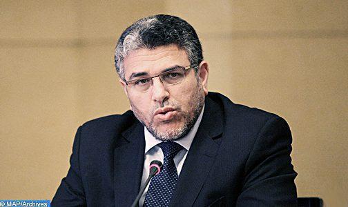 M. Ramid appelle à l'accélération de la mise en oeuvre du projet d'un rapport annuel sur les droits de l'Homme au Maroc