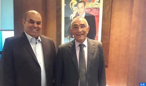 M. Azziman reçoit le président de l'Observatoire national du système de l'éducation et de la formation
