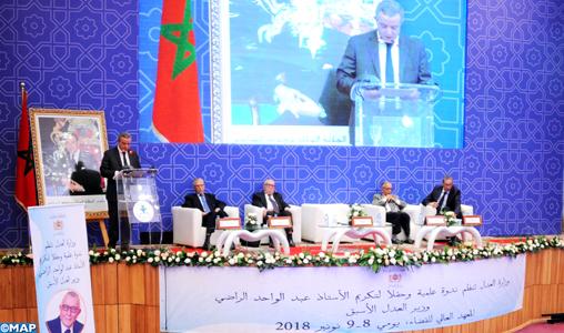 La Justice, un élément essentiel pour la réussite de tout plan de développement économique (M. Aujjar)