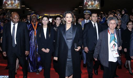 """SAR la Princesse Lalla Meryem préside à Marrakech le lancement officiel de la campagne panafricaine """"Pour des villes africaines sans enfants en situations de rue"""""""