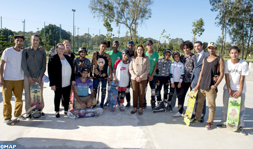 SAR la Princesse Lalla Hasnaa inaugure le Parc Hassan II de Rabat
