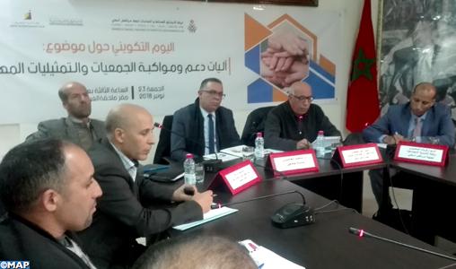 Safi : Rencontre de communication autour des rôles des associations professionnelles à la lumière des nouvelles lois