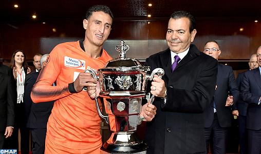 SAR le Prince Moulay Rachid préside à Rabat la finale de la Coupe du Trône de football, saison 2017-2018