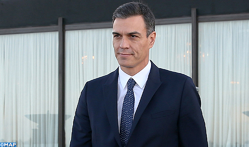 M. Pedro Sanchez salue le leadership de SM le Roi Mohammed VI en Afrique et en matière de la migration
