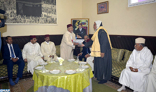 Azilal : remise de dons royaux au profit des Zaouias Tanaghmelt et Bassiria