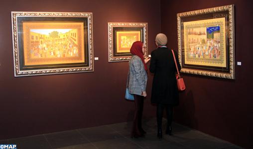 """Casablanca: Vernissage de l'exposition """"De la mémoire en miniature"""" de Abdelhay Demnati"""