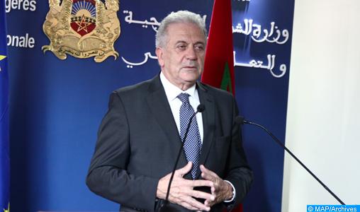 Le commissaire européen Avramopoulos conduit la délégation de l'UE à la Conférence de Marrakech sur le pacte mondial pour les migrations