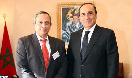 La nouvelle dynamique des relations bilatérales au centre d'un entretien de M. El Malki avec un diplomate cubain