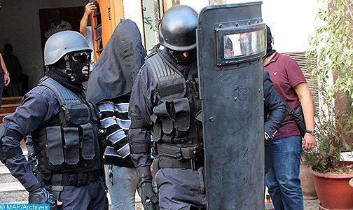 """Démantèlement d'une cellule terroriste de six individus partisans présumés de """"Daech"""" opérant à Béni Mellal (Ministère de l'Intérieur)"""