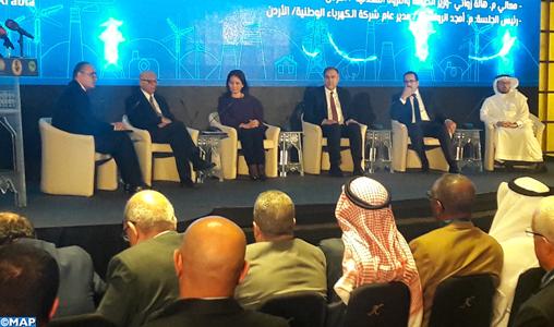 Jordanie: Le Maroc, président de l'Union arabe de l'électricité