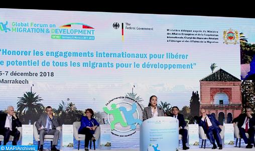 GFMD : Présentation du Rapport de la Politique nationale d'immigration et d'Asile au titre de l'année 2018