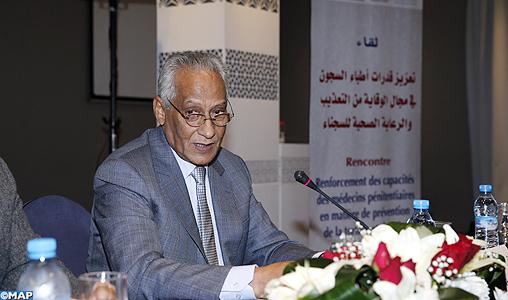 M. Tamek souligne l'adhésion de la DGAPR à tous les programmes de prévention de la torture