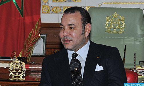 SM le Roi félicite le Souverain du Bahreïn à l'occasion de la fête nationale de son pays