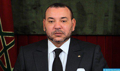 Message de condoléances de SM le Roi au Serviteur des Lieux Saints suite au décès de la Princesse Jahir Bint Saoud Bin Abdelaziz Al Saoud