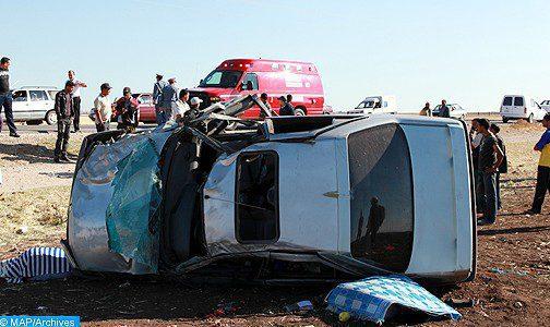 Benslimane : quatre personnes périssent dans un accident de la route